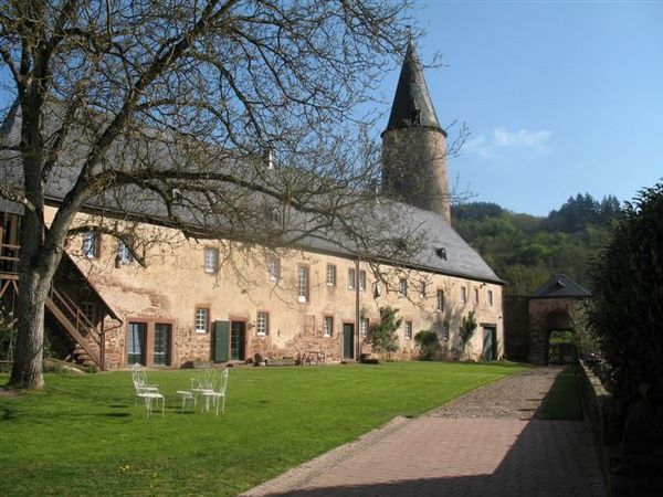 Burg Bruch - Innenhof