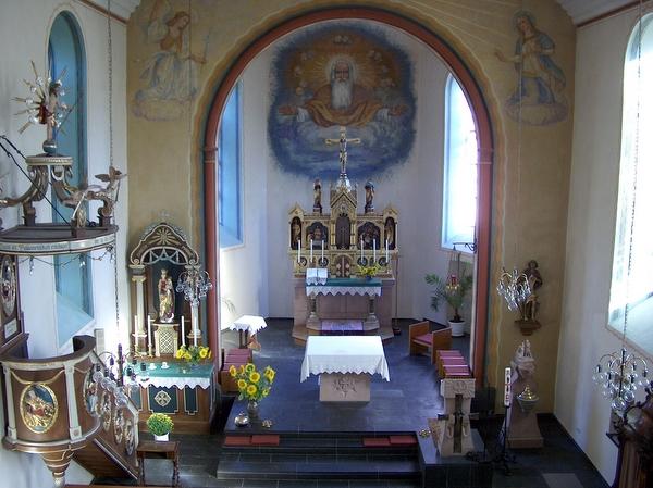Pfarrkirche St. Rochus - Hochaltar