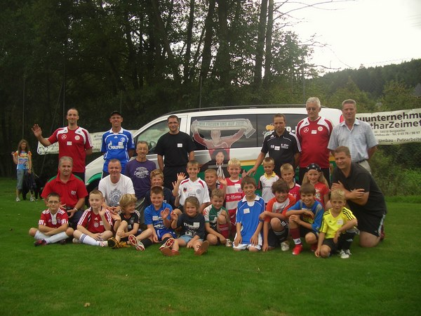 Das DFB-Mobil in Bruch
